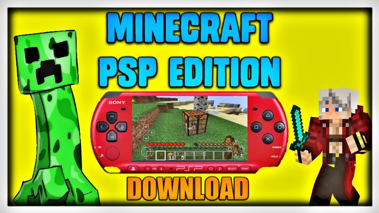 Minecraft PSP Edition EJEAG
